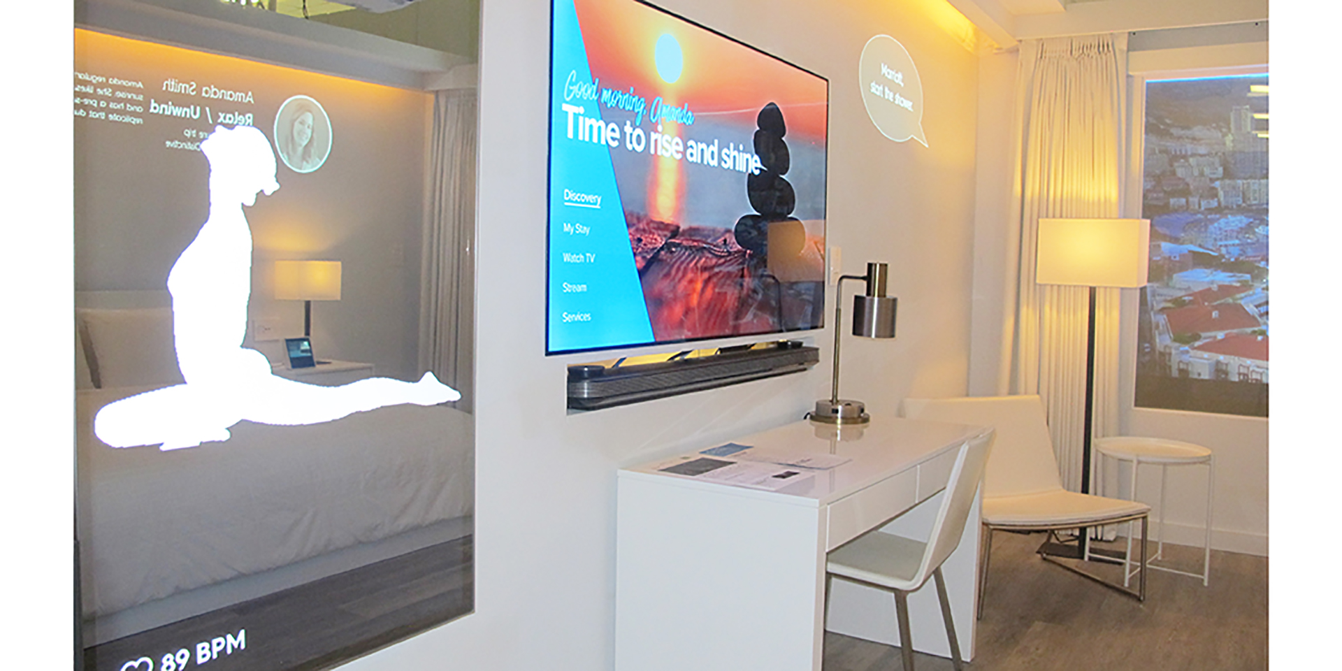 Marriott International Teams with Samsung and Legrand to