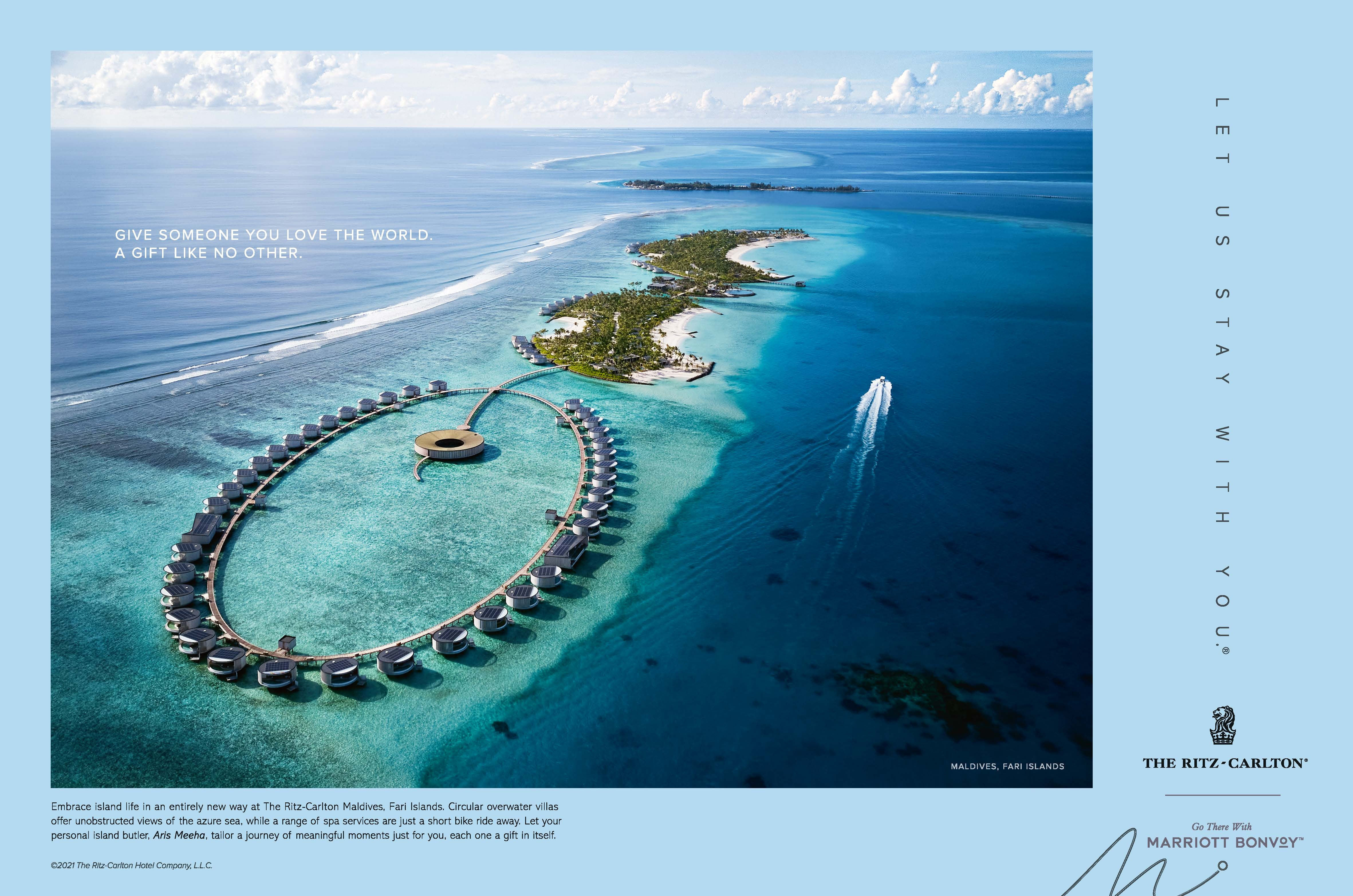 Give Someone You Love The World - Embrace island life in an entirely new way at The Ritz-Carlton Maldives Fari Islands._A Gift Like No Other.jpg