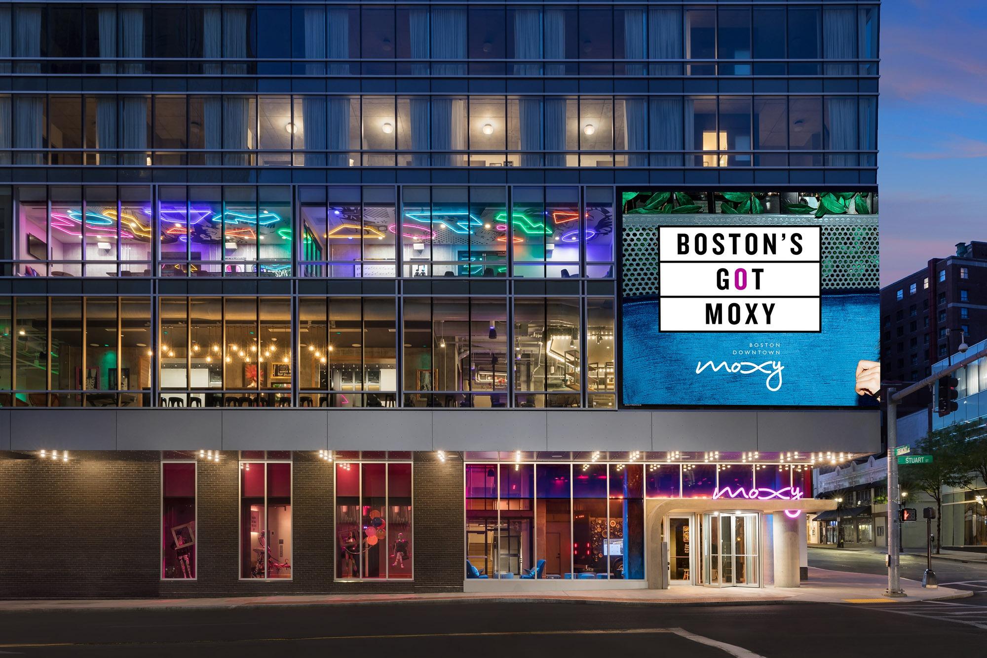 Moxy Boston Exterior
