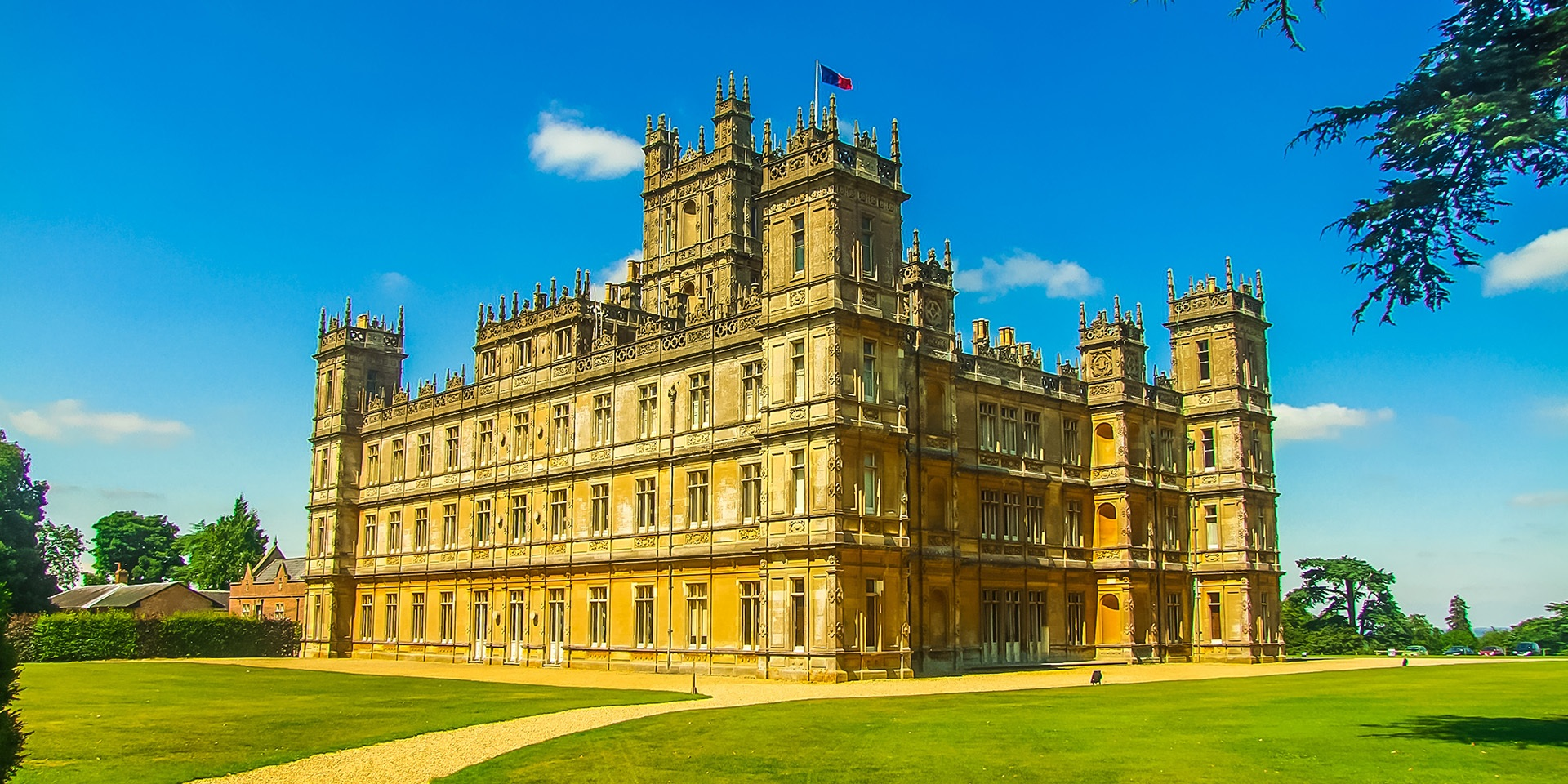 Downton Abbey castle cropped