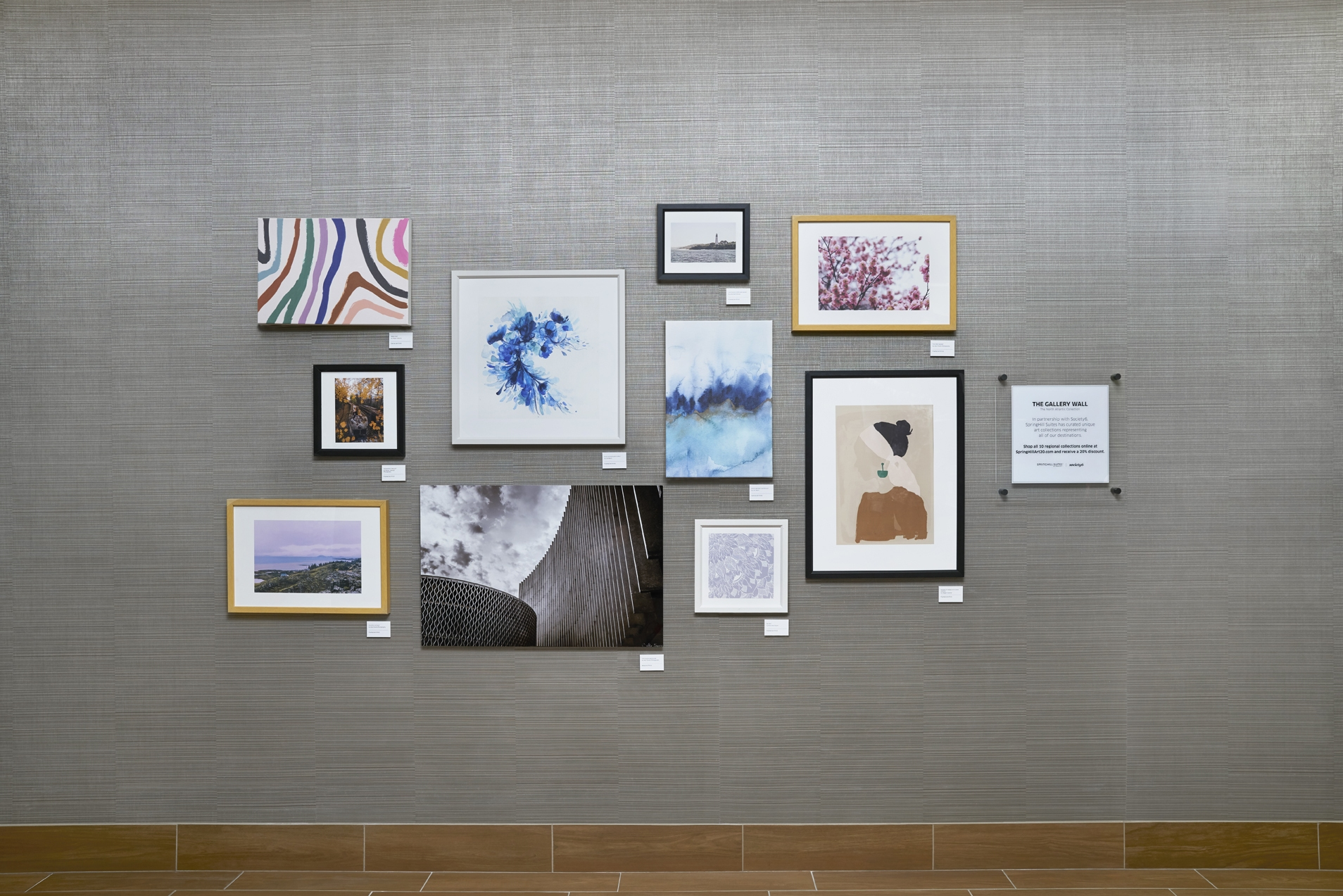 , SpringHill Suites by Marriott Partners with Society6 to Showcase Regionally Inspired Gallery Wall Art Collections in over 450 Hotels, For Immediate Release | Official News Wire for the Travel Industry, For Immediate Release | Official News Wire for the Travel Industry