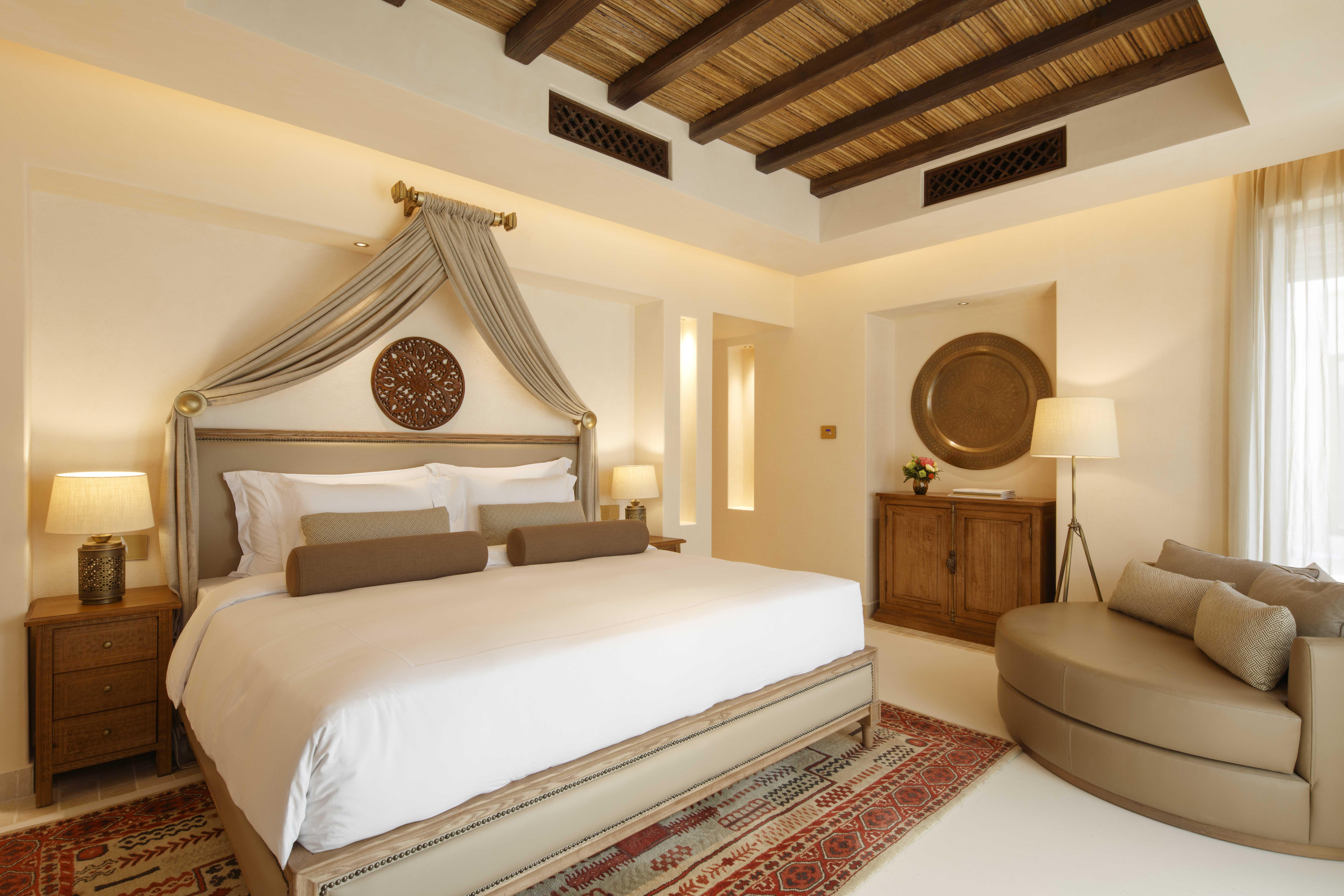 Al Wathba, a Luxury Collection Desert Resort & Spa, Abu Dhabi - One bed Villa bedroom[1].jpg